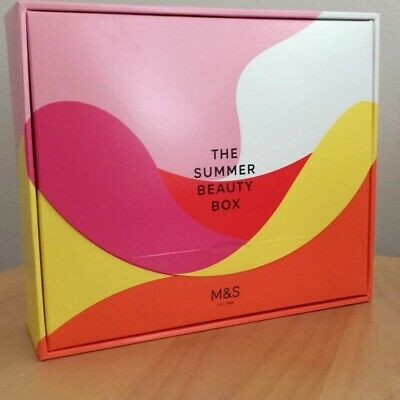 M&S The Summer Beauty Box 2018 Limited Edition  ~ Brand New ~ Marks & Spencer