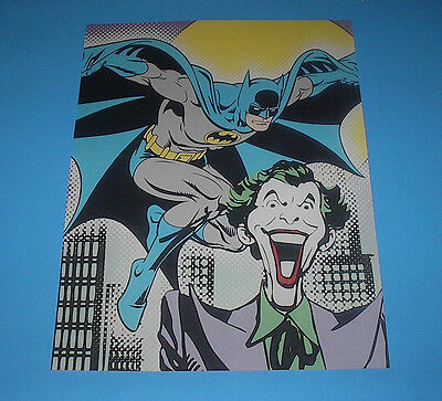 Dc Comics Super Powers Poster Pin Up The Joker And Batman