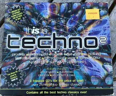 VARIOUS ARTISTS - This Is Techno [Water Music] Used - Very