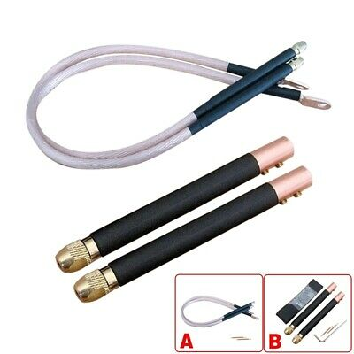 1 Set DIY Spot Welder Copper Handheld Spot Welding Pen Hole Terminal Connector