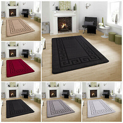Small Large Anti Slip Non Shed Floor Area Hallway Rug Gel Backed Runner 80x150