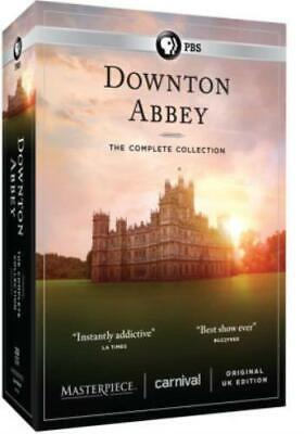DOWNTON ABBEY: THE COMPLETE COLLECTION (Region 1 DVD,US Import,sealed.)