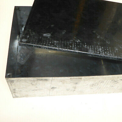 300mm Metal Adaptable Steel Junction Box Galvanised plain mettalic 300x220x100mm