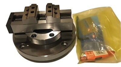 "2""-Inch Vertex 4/5 Axis Self Centering CNC Vise Made in Taiwan"