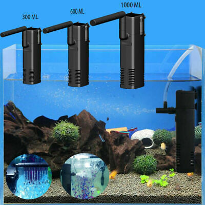 UK Hidom Internal Fish Tank Aquarium Filter Submersible with Spray Bar Included