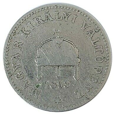Coin / Kingdom Of Hungary / 20 Filler 1893  #Wt3318