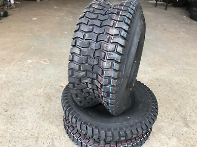 2x 16x6.50-8 4PR Lawn mower Grass cutting Golf buggy new turf tyres 16 6.50 8 x2