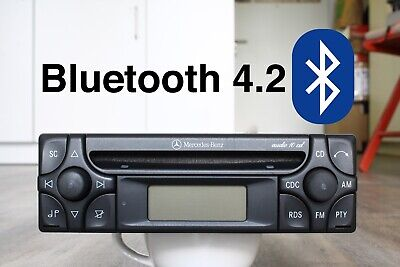 Audio 10 CD mit Bluetooth ~ OEM Mercedes Radio ~ W140 W124 R129 W210 W201 W126