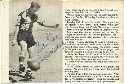 Football Autograph George Petherbridge Bristol Rovers Magazine Photo F1269