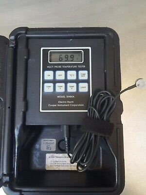 Cooper Sh66A Digital Temperature Instrument