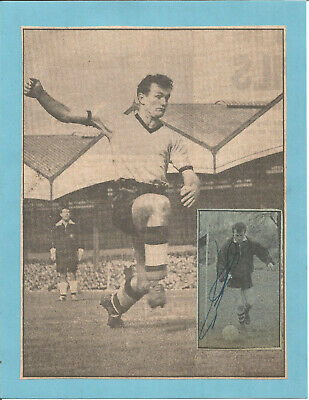 Football Autograph Jimmy Murray Wolves FC Signed Newspaper Photograph F1280