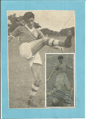 Football Autograph Harry Hooper Wolves FC Signed Newspaper Photograph F1281