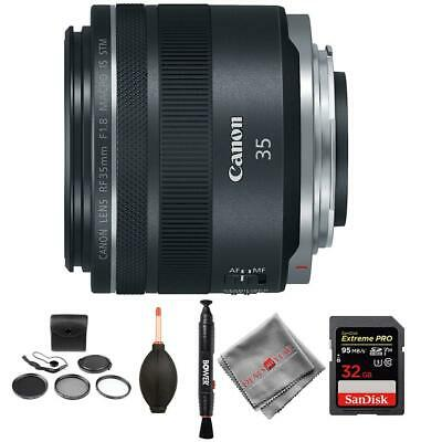 Canon RF 35mm f/1.8 IS Macro STM Lens and memory kit
