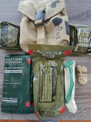 North American Rescue Tactical IFAK Trauma NAR Gauze Medical Kit Supplies Pouch