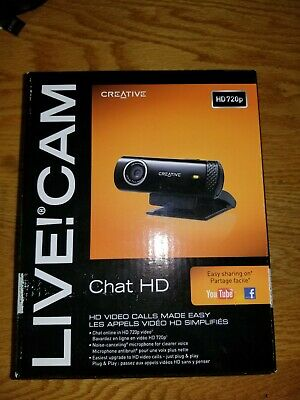 CREATIVE LIVE! CAM INPERSON HD (VF0720) DRIVERS FOR PC