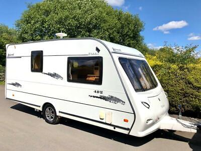 Elddis Avante 482 2 Berth Caravan With Motor Mover - Lightweight Caravan