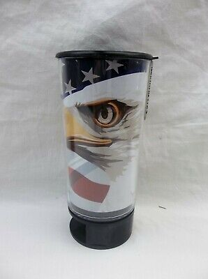EAGLE//FLAG SPITTOON SPIT BUD PORTABLE CUPHOLDER SPILL PROOF EASY CLEAN-OUT
