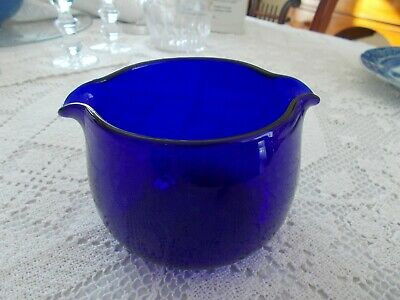 Early 19th C,.Cobalt Wine Rinser - ca.1830