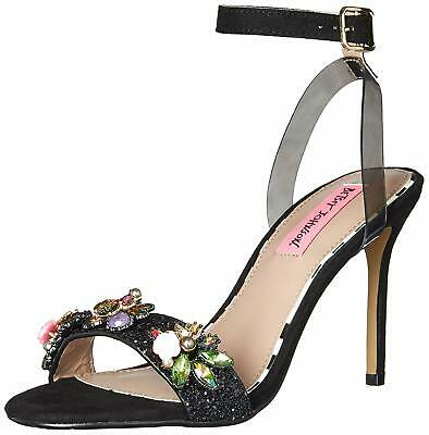 Betsey Johnson Womens Jazzy Flat Striped Sandals Espadrilles BHFO 9260