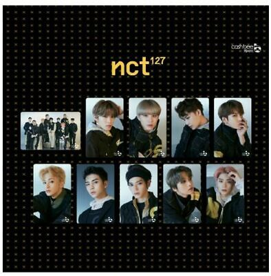 NCT 127 WE ARE SUPERHUMAN SM OFFICIAL CASHBEE PHOTOCARD Transportation Card NEW