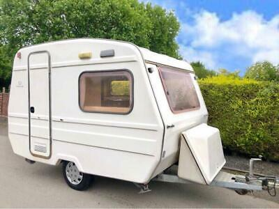 Freedom Sunseeker 2 Berth Caravan With Awning - Super Lightweight Caravan