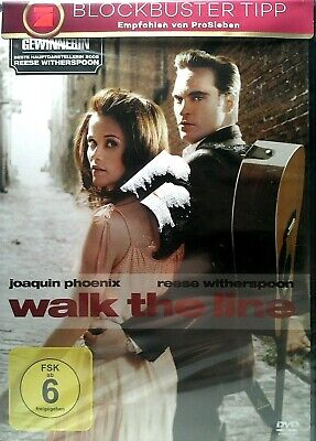 Walk the line, DVD, Johnny Cash, Reese Witherspoon, Joaquin Phoenix (NEU & OVP)