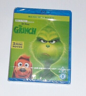 The Grinch 3D Blu-ray & Digital Download - Brand New