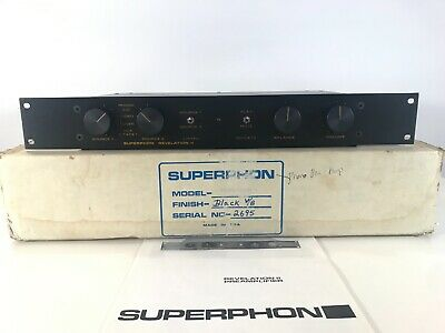 *RARE IN BOX* Superphon Revelation II Preamplifier w/ MANUAL  -phono/cd/tape/aux