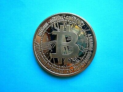 Bitcoin 'DIGITAL CURENCY' 1oz  Copper Round