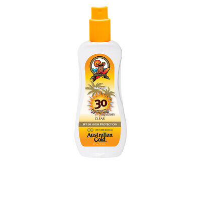 Cuerpo Australian Gold unisex SUNSCREEN SPF30 spray gel 237 ml