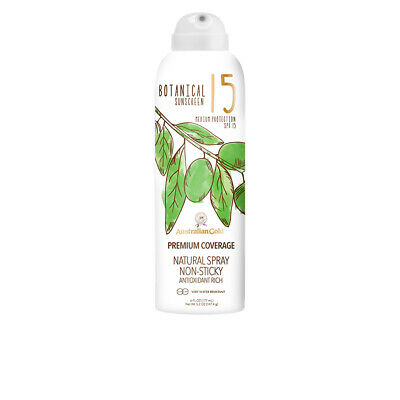 Cuidado Solar Australian Gold unisex BOTANICAL SPF15 continuous spray 177 ml