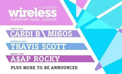 Wireless Festival 2019 Tickets Weekend: FRIDAY and SUNDAY
