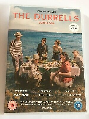 The Durrells - The Complete Series 1 GENUINE UK (region 2) 2016 DVD Keeley Hawes