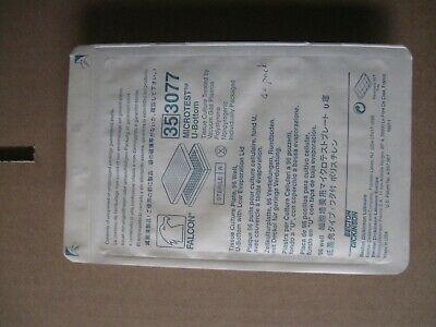 BD Falcon 353077 Microtest u-bottom lid 96-well tissue culture plate, 40 plate