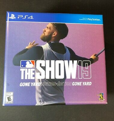 MLB The Show 19 Gone Yard Edition [ Collector 9Fifty Hat + STEELBOOK ] (PS4) NEW