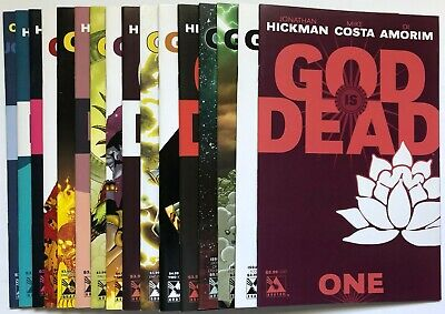 God is Dead (2013) 1 2 3 4 5 6 7 Run Set Lot Hickman Costa Di Amorim Avatar