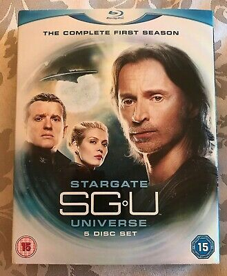 Stargate Universe, Complete First Season Blu-ray , 5 Disc Set, V Good Condition