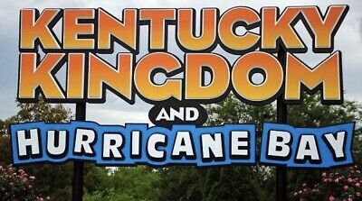 Kentucky Kingdom & Hurricane Bay Tickets A Promo Discount Tool + Drink Wristband