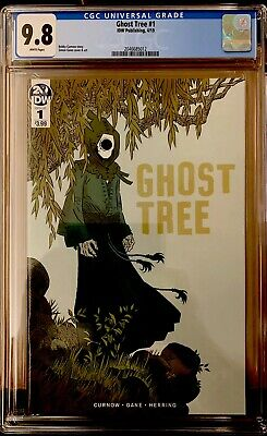 Ghost Tree #1 Cgc 9.8 Japanese Horror Idw Comics 2019 Sold Out, 1St Print