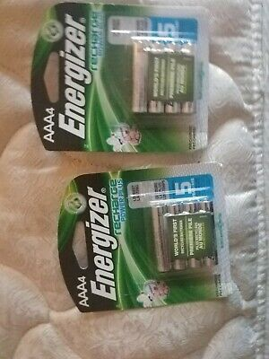 8 Energizer AAA Rechargeable Batteries lot