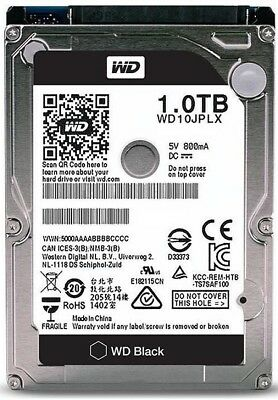 Western Digital WD Black 1 TB Internal 7200 RPM Hard Drive