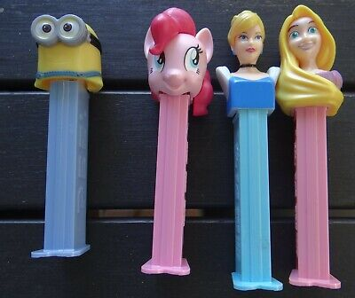 4 x DIFFERENT COLLECTABLE PEZ UNITS