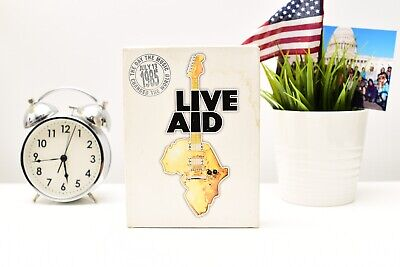 1985 Live Aid Concert 4 DVD Set Queen Bohemian Rhapsody Petty WHO Bowie Stones