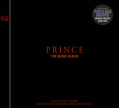 Prince / The Black Album:collector's Edition - Remix And Remasters Pga 2×Cd F/S