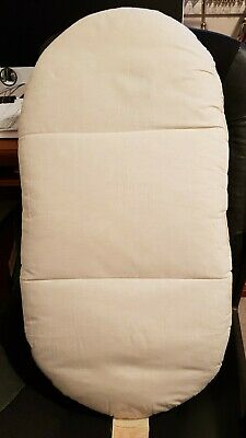 Cot & Bassinet Organic mattress. 40x80 Hardly used. In good clean condition.