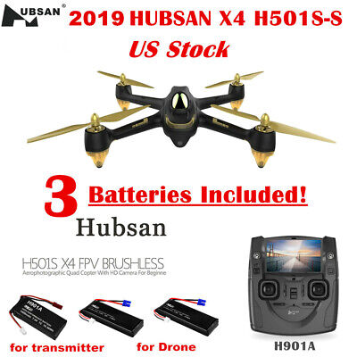 Hubsan X4 H501S Quadcopter 1080P Camera  5.8G FPV GPS Brushless RTF, SS Edition