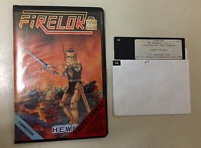 Vintage Commodore 64 Game - FIRELORD