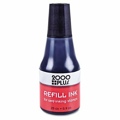 2000 Plus Cosco Self Inking Stamp Ink Refill 0 9 Oz 25 Cc