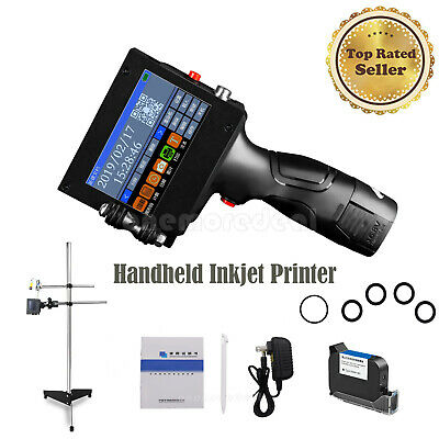 Handheld Inkjet Printer Touch Screen Writing Pen K3+Imported Black Ink Cartridge