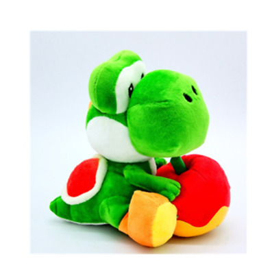 Super mario bros brothers yoshi apple 8' plush doll stuffed toy gift NEW
